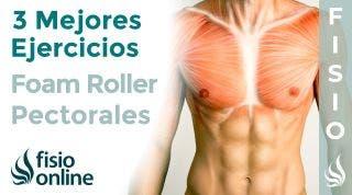 Los 3 mejores ejercicios con FOAM ROLLER para tus PECTORALES