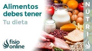 Alimentos que SIEMPRE deben de ESTAR en tu DIETA