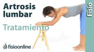 Artrosis lumbar. Tatamiento con ejercicios, auto-masajes y estiramientos