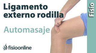 8. Auto-masaje para el esguince  del ligamento lateral externo de la rodilla.