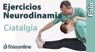 Ejercicios neurodinamicos para la ciática o ciatalgia.