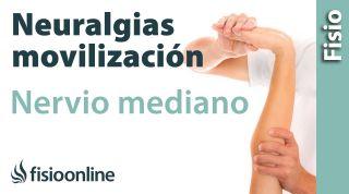 Auto-movilizaciones del nervio Mediano para neuralgias y tunel carpiano