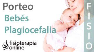 Porteo ergonómico en bebés con plagiocefalia