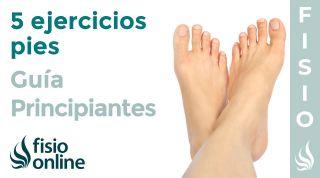5 Ejercicios fáciles para pies | GUIA PARA PRINCIPIANTES