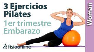 3 ejercicios de Pilates en embarazo primer trimestre