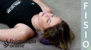 Espalda sana - Relajación cervical con softball y roller