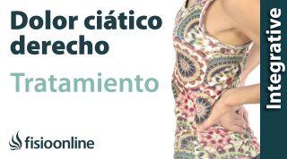 Tratamiento de ciática o ciatalgia derecha