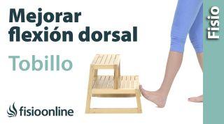 Movilización del tobillo para mejorar la flexión dorsal
