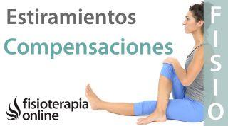 Estiramientos musculares y compensaciones