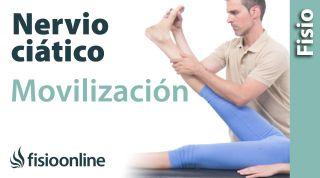 Auto-movilizaciones del nervio ciático para mejorar dolores de ciática.