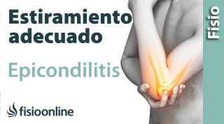"""Cómo """"NO"""" estirar en caso de Epicondilitis o Codo de Tenista."""