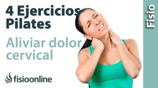 4 ejercicios de Pilates para dolor cervical