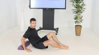 Ejercicio para aliviar el dolor de cuello (cifosis dorsal)