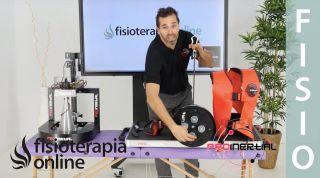 Funcionamiento de disco de inercia Prosquat: ejercicios de tracción vertical