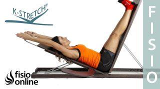 Ejercicios para la dorsalgia o dolor de espalda con K Stretch