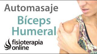 12. Auto-masaje para la tendinitis del bíceps humeral.