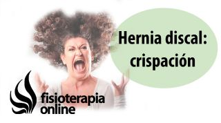 Hernia discal cervical derecha y su relación con la crispación y el estrés