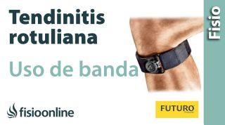 Tendinitis rotuliana - Uso de la banda infrarrotuliana