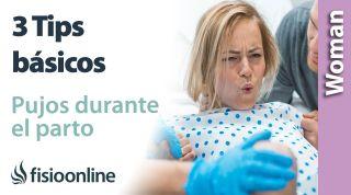 Pujos durante el parto. ¿Cómo tengo que respirar para no dañar mi suelo pélvico? 3 tips básicos