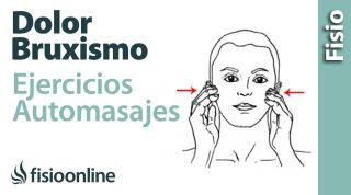 Bruxismo o tensión de la mandíbula. Tratamiento con ejercicios, auto masajes y estiramientos.