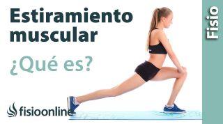 ¿Qué es un estiramiento muscular