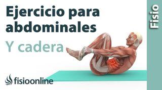 Ejercicio para una cadera más flexible y un abdomen más tonificado
