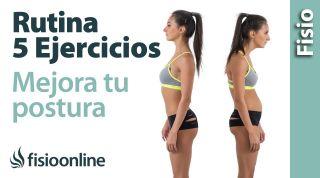 5 Ejercicios para mejorar la Postura | GUIA PARA PRINCIPIANTES