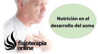 Importancia de la nutrición en el desarrollo del asma