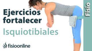 Ejercicios para fortalecer isquiotibiales y músculatura posterior de las piernas