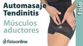 14. Auto-masaje para la tendinitis de los músculos aductores.