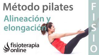 Aprender Pilates - Alineación y Elongación de la espalda
