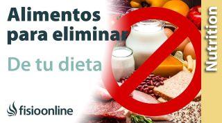Alimentos que DEBERÍAS ELIMINAR de tu DIETA
