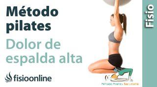 Ejercicios de Pilates para Dorsalgia o dolor de espalda alta