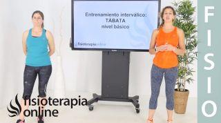Ejercicio de Entrenamiento Interválico Básico: rodilla a codo   TÁBATA