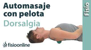 3.Auto-masaje dorsales y escapula con pelota