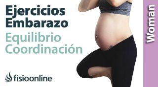 Ejercicios de equilibrio y coordinación durante el embarazo. Mejora tu coordinación y equilibrio.