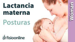 Posiciones para la lactancia materna