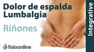 Tratamiento para el dolor lumbar o lumbalgia  y ciática provocado por una alteración de riñón
