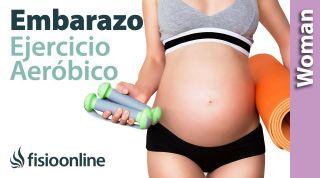 La importancia de hacer ejercicio aérobico en embarazadas y cómo hacerlo sin riesgos.