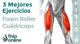 Los 3 mejores ejercicios con FOAM ROLLER para tus CUÁDRICEPS