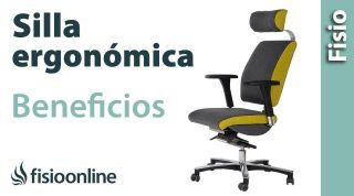 Silla ergonómica. Virtudes, beneficios y características para los problemas de espalda.