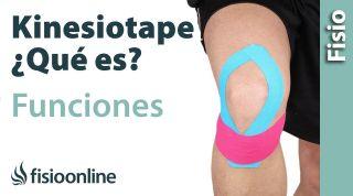 Kinesiotaping o vendaje neuromuscular. ¿Qué es y cómo funciona?