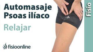 12.Auto-masaje para el músculo Psoas iliaco.