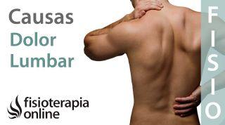Causas por las que el deportista puede sufrir dolor lumbar