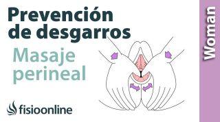 Masaje perineal para evitar la episiotomia o el desgarro en el parto.