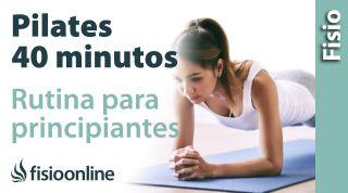PILATES en casa para PRINCIPIANTES 40 MINUTOS. Aprende pilates en casa de forma fácil y sencilla