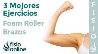Los 3 mejores ejercicios con FOAM ROLLER para tus BRAZOS
