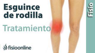 Esguince de ligamento lateral Interno de rodilla. Tratamiento en su fase inicial.