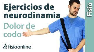 Ejercicios neurodinamicos para el dolor de codo.