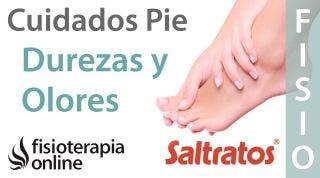 Cuidados generales del pie. Prevenir durezas, mal olor y otros problemas